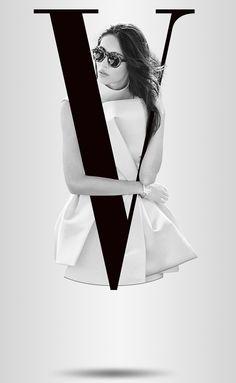 fashion poster Fashion Alphabet with Models on Behance Web Design, Book Design, Layout Design, Alphabet, Typography Poster, Typography Design, Fashion Graphic, Fashion Design, Fashion Fashion