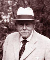 Karl Foerster, Staudenzüchter - m. frdl. Erlaubnis der Gartenzeitung (heute GartenFlora)