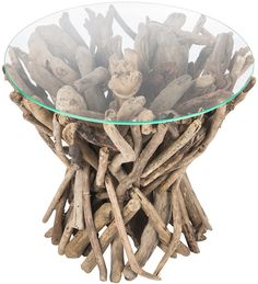 A by Amara - Inyo Driftwood Side Table