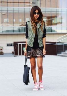 Cool Ways to Wear Converse Shoes