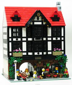 Ollivander's Pub by _Matn, via Flickr (via http://www.bricktowntalk.com/) lego