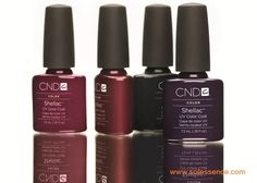 NEW CND Shellac Colors