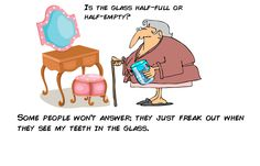 If you're tired of keeping your smile in a glass, ask us about implants. Just call (805) 601-8008
