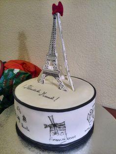 Tarta Cake Paris