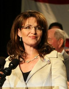 Sarah Palin, she was to be the republican vice president if they would have won. She has currently written two books, which are both very inspiring! She is a woman who I greatly admire.