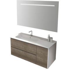 Belfry Bathroom Mosman 100cm Wall Mounted Vanity Unit With Mirror and Storage Cabinet & Reviews   Wayfair.co.uk