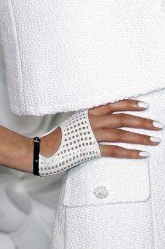 Chanel Couture, Spring 2009, gloves