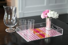 Lucite Trays | Lucite trays, custom personalized trays, custom trays