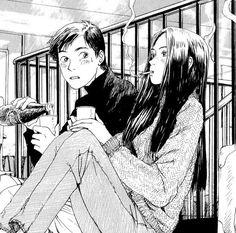 Image about anime in manga boys to me. Manga Anime, Art Manga, Art Anime, Anime Kunst, Aesthetic Anime, Aesthetic Art, Art Sketches, Art Drawings, Couples Anime