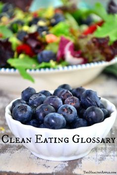 Clean Eating Glossary
