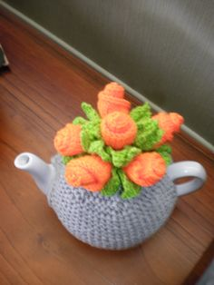 Cool Knitted Tea Cosie