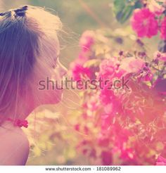 Adorable girl with instagram effect  by Melissa King, via Shutterstock