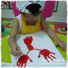 Hand and Footprint Lobster #JoesCrabShack