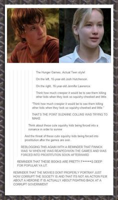 Holy hell, that hurts. The real hunger games. Jennifer Lawrence. Josh hutcherson. The hunger games. Tumblr post