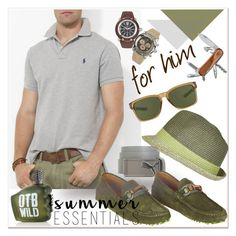 """Summer Menswear Essentials"" by betiboop8 ❤ liked on Polyvore featuring Ralph Lauren, Puma, Gucci, River Island, Oakley, Diesel, Victorinox Swiss Army, men's fashion, menswear and summermenswearessentials"