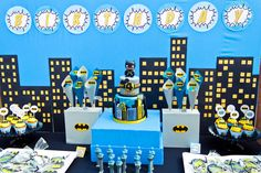 Holy Smokes! It's a Batman Inspired Super Hero Birthday Party : Anders Ruff Custom Designs :