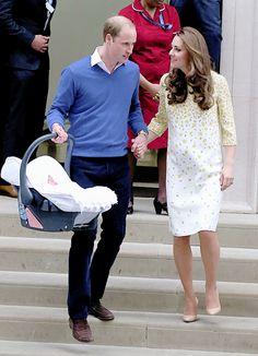 Duke, Duchess and Princess of Cambridge