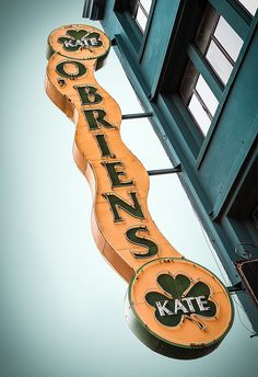 Kate O'Brien's by Shakes The Clown, via Flickr