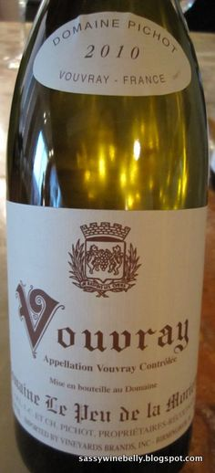 Domaine Pichot Vouvray. my family's wine from France.