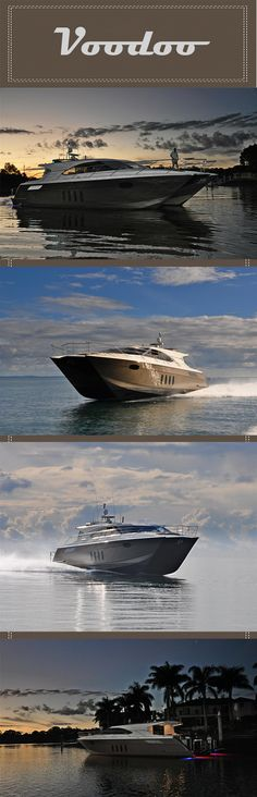 High speed passage making at its most luxurious. Recently returned from High speed south west pacific tour. NZ to Brisbane in 2 and a half days! Power Catamaran, Voodoo, Yachts, Powerful Women, High Speed, Boating, Coastal, Ocean, Tours