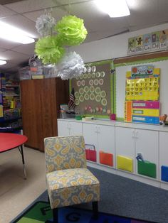 Kindergarten classroom decor!
