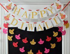 Happy Diwali Banner Mother Laxmi Diwali Decorations Diwali Banner Festival o Happy Diwali, Diwali Diy, Diwali Craft, Diwali Decoration Lights, Diwali Lights, Ribbon Colors, Red Ribbon, Red Crafts, Diwali Celebration
