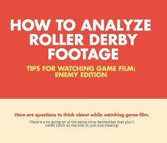 Analyzing Roller Derby Game Film: Enemy Edition