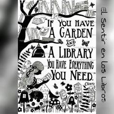 Garden and books: My dream!! #ElSentirEnLosLibros #biblioteca #jardin #libro #libros #literatura #lee #leer #lector #lectores #lectura #book #books #read #reader #readers #reading #timetoread #readingTime #tiempodelectura #amoLeer #loveToRead #placeToRead