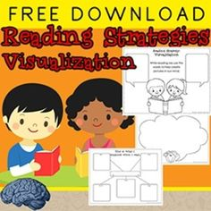 FREE! Are you teaching the reading strategy visualization?If you need student anchors and worksheets to record visualizations, you found it!When we read something new it can be difficult to remember and understand it. Our brains remember pictures better than words.