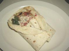 Spinach Chicken Wraps Recipe