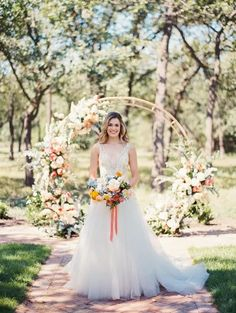Zesty Citrus Wedding Ideas – The Grand Lady – Texas Wedding – Kristin La Voie Photography 15  This zesty and bright citrus wedding just make the scrummy colors pop out!  #bridalmusings #bmloves #ido #wedding #citrus #weddinginspo #weddinginspiration #zesty #yellow #orange Wedding Shoot, Wedding Dresses, Eclectic Wedding, Bridal Musings, Wedding Inspiration, Wedding Ideas, Beautiful Bride, Bright, Orange
