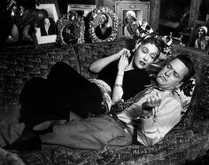 Gloria Swanson and William Holden in Billy Wilder's Sunset Boulevard