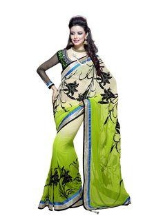 Pakistani Bollywood Saree Ethnic Designer Indian New Sari Wedding Partywear SC…