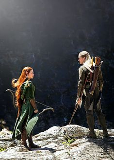 Tauriel and Legolas