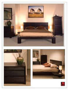 Zen-like bedroom