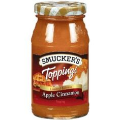 I'm learning all about Smuckers Apple Cinnamon Topping at @Influenster!