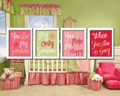Cute Juicie Fruit Strawberry Pink Green Red You Are by trmDesign, $38.50