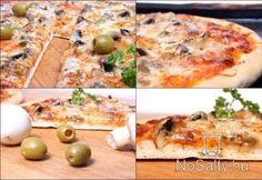 Pizza - ahogy a boltban készül Mozzarella, Mashed Potatoes, Salads, Chicago, Bread, Cheese, Ethnic Recipes, Food, Whipped Potatoes