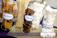 s'mores bar for wedding - Google Search