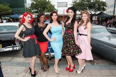 """""""Rumble on Pine"""" Rockabilly Block Party"""
