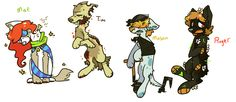 Dead Adoptables $7 each! by lupisvulpes on DeviantArt