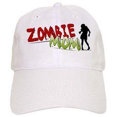 Zombie Mom Baseball Baseball Cap