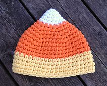 Ravelry: Candy Corn Hat pattern by Crochet by Jennifer