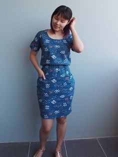 all the little happy things - Bettine dress (Tilly and the buttons)