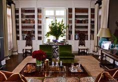 Aerin Lauder's Hampton's library