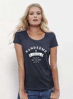 Jane - Damen T-Shirt mit U-Ausschnitt