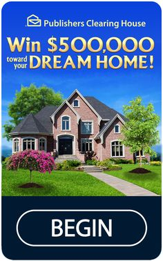 Publishers Clearing House gives you dozens of chances every day to enter to win free million-dollar sweepstakes. Instant Win Sweepstakes, Online Sweepstakes, Pch Dream Home, Dream Homes, Win For Life, Lottery Winner, Lotto Lottery, Publisher Clearing House, Winning Numbers