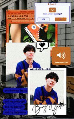 Wallpaper - Bang Yedam by Wallpaper-Idol on DeviantArt Boys Wallpaper, Pastel Wallpaper, Wallpaper Lockscreen, Yg Entertainment, Yoshi, Yg Artist, Aesthetic Lockscreens, Treasure Boxes, Aesthetic Photo