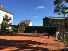 Valle Tennis, Oslo. Tennis Tips, Oslo, Mansions, House Styles, Instagram Posts, Home Decor, Decoration Home, Manor Houses, Room Decor