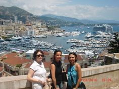 "Feeling ""princesses"" in Monaco"
